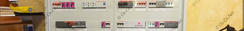 Щит с автоматикой IPM для коттеджа (Поварово)
